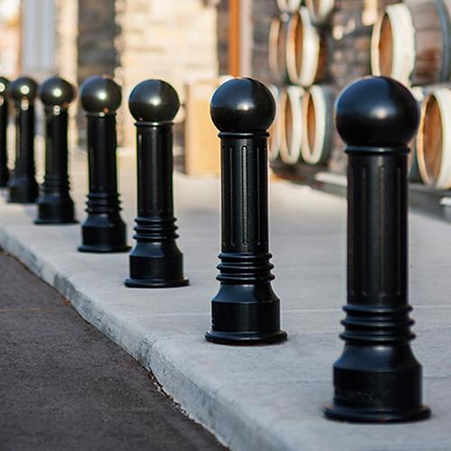 Bollard Pedestrian / Patok Pembatas Jalan Antik