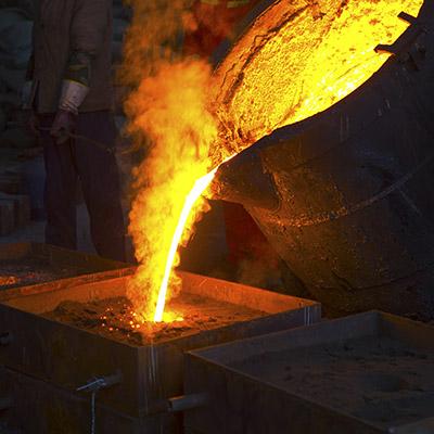 produk pengecoran logam