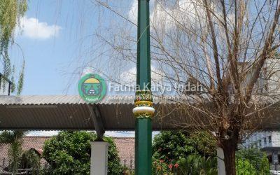 Tiang Lampu Stasiun Tugu Yogyakarta