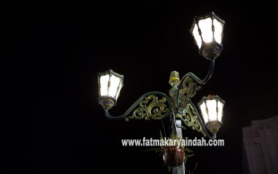 Proyek Tiang Lampu Malioboro